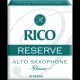 D'Addario Reserve Alto Saxophone Reed, Strength 3, Box of 10