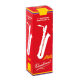 Vandoren Java Red Baritone Saxophone Reed, Strength 2, Box of 5