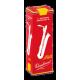 Vandoren Java Red Baritone Saxophone Reed, Strength 3.5, Box of 5