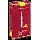 Vandoren Java Red Soprano Saxophone Reed, Strength 4, Box of 10