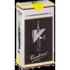 Vandoren V12 Soprano Saxophone Reed, Strength 4.5, Box of 10