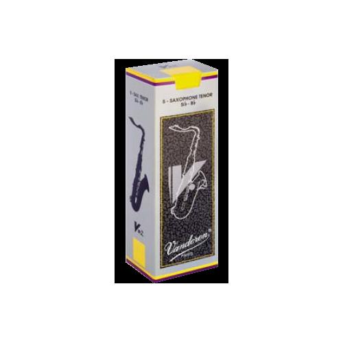 Vandoren V12 Tenor Saxophone Reed, Strength 2.5, Box of 5