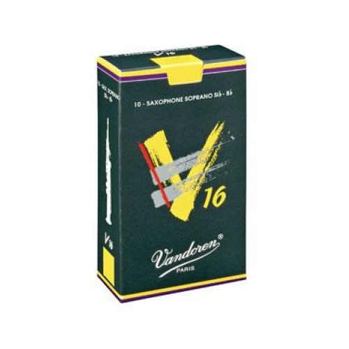 Vandoren V16 Soprano Saxophone Reed, Strength 2, Box of 10