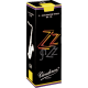 Vandoren ZZ Tenor Saxophone Reed, Strength 1.5, Box of 5