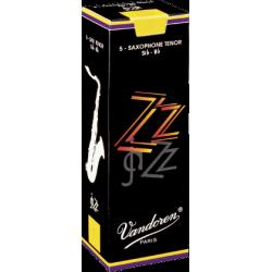 Vandoren ZZ Tenor Saxophone Reed, Strength 3.5, Box of 5
