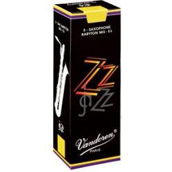 Vandoren ZZ Baritone Saxophone Reed, Strength 4, Box of 5