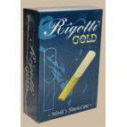 Rigotti Gold Jazz Tenor Saxophone Reed, Strength 3.5, Box of 10