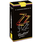 Vandoren ZZ Soprano Saxophone Reed, Strength 2.5, Box of 10