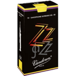 Vandoren ZZ Soprano Saxophone Reed, Strength 3.5, Box of 10