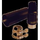 Bari Hard Rubber Mouthpiece for Soprano Saxophone 62