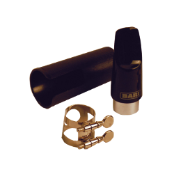 Bari Hard Rubber Mouthpiece for Soprano Saxophone 66