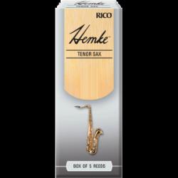 Rico Hemke Premium Tenor Saxophone Reed, Strength 4, Box of 5