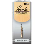 Rico Hemke Premium Soprano Saxophone Reed, Strength 2, Box of 5