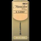 Rico Mitchell Lurie Premium Bb Clarinet Reed, Strength 4, Box of 5