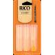 Rico Orange Bb Clarinet Reed, Strength 1.5, Box of 3