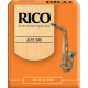 Rico Orange Alto Saxophone Reed, Strength 2.5, Box of 10