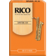 Rico Orange Baritone Saxophone Reed, Strength 1.5, Box of 10