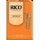 Rico Orange Baritone Saxophone Reed, Strength 3.5, Box of 10
