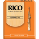 Rico Orange Soprano Saxophone Reed, Strength 2, Box of 10